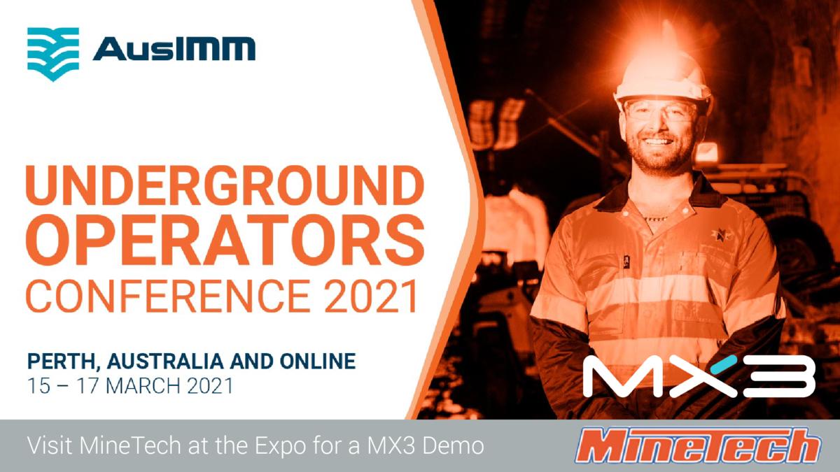 MineTech at AusIMM Underground