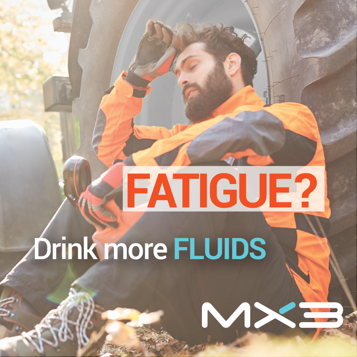 Fight fatigue with fluids