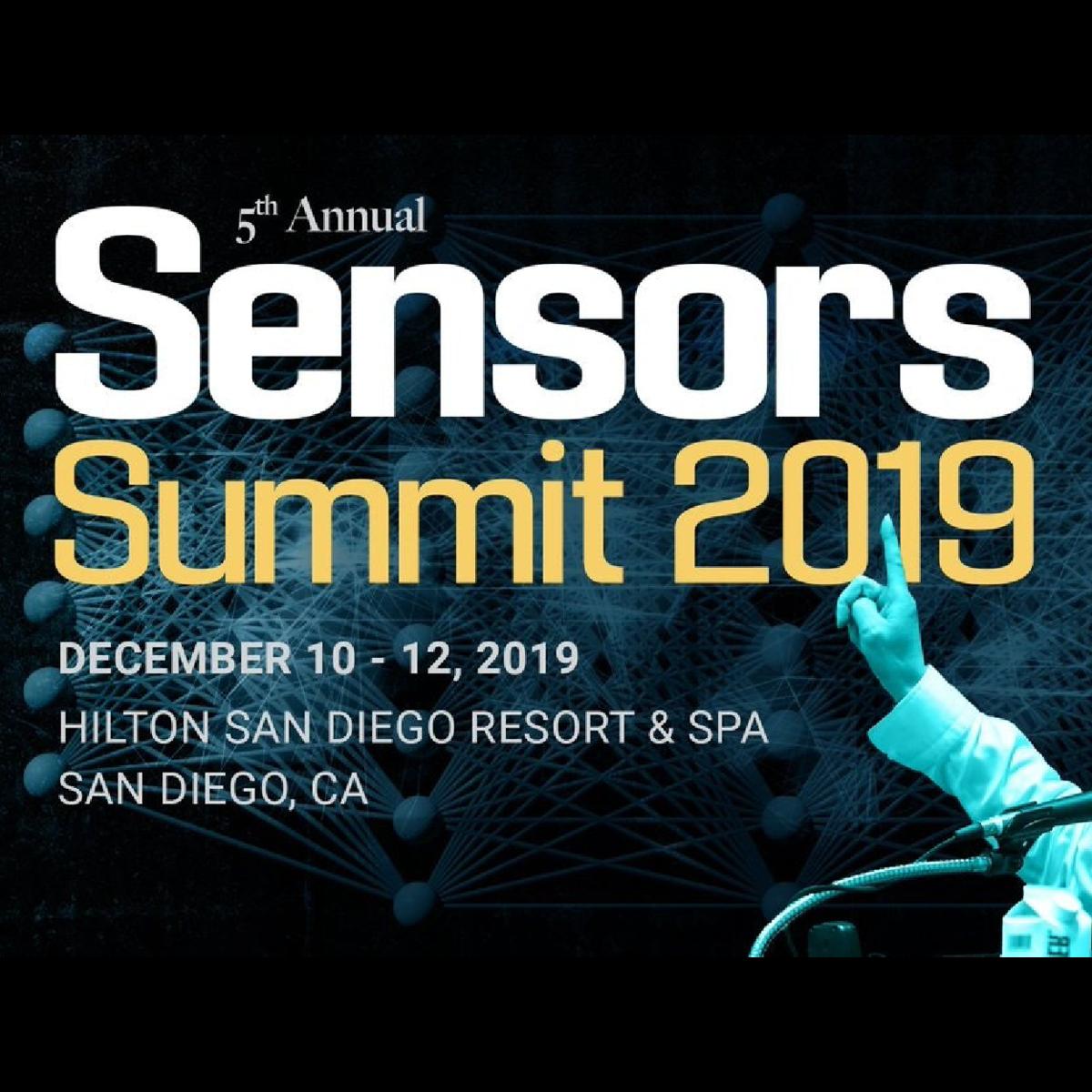 Sensors Summit 2019