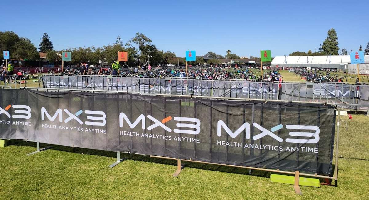 MX3 at IRONMAN Western Australia