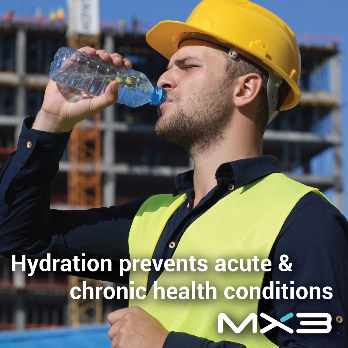 Hydration prevents acute & chronic health conditions