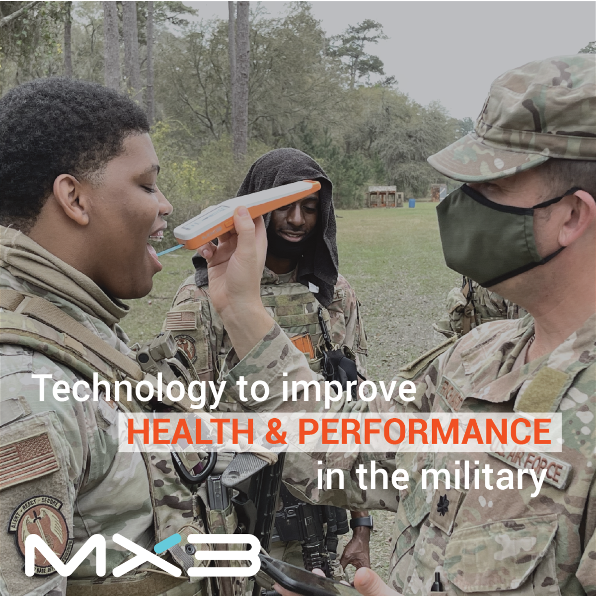 Technology to improve Health & Performance in the military