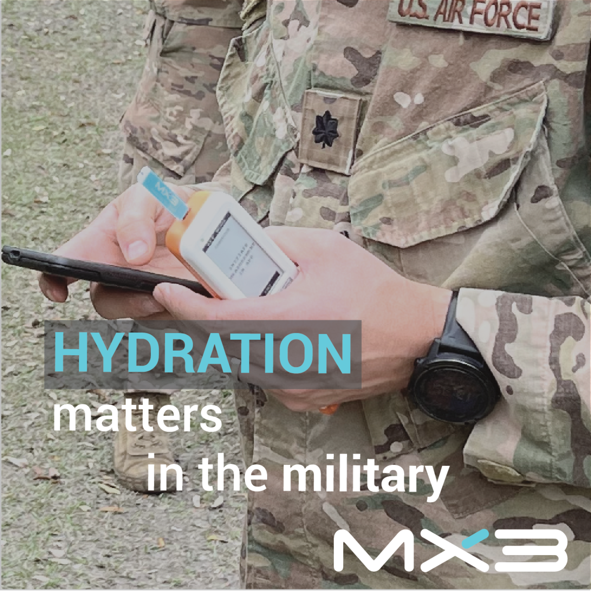 Hydration matters in the military
