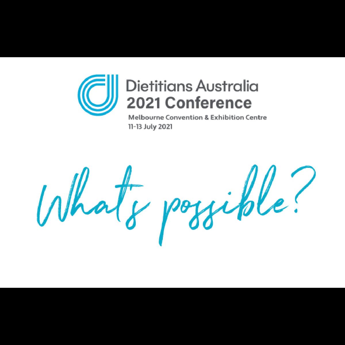 Dietitians Australia 2021 Conference